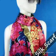 Wholesale Bufanda larga de seda para la muchacha