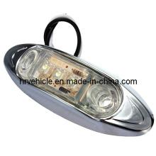 Luz de marcador lateral LED para remolque DOT Chrome Light