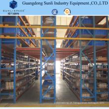 Assoalho de mezanino da construção de aço do armazenamento do armazém com cremalheira da prateleira