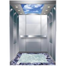 Aksen Mirror Etched Machine Room Passenger Elevator J0323