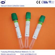 Коллекция вакуум крови трубки пробка гепарина (ЕНК-CXG-028)