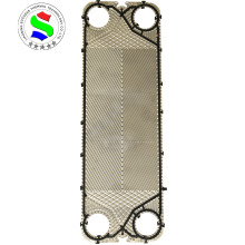 Heat exchanger titanium sheet plate replace M15M