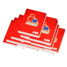 Notes collantes de qualité supérieure, notes collantes assorties. Bloc-notes rouge