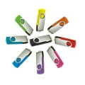 Unidad flash USB rotativa Thumbdrive Twister de 8 GB
