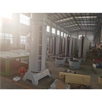 Цилиндрический осевой башенный вентилятор для линии сушки кожуха