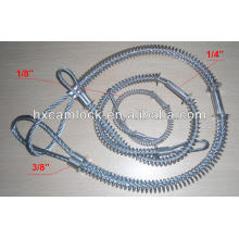 engates rapidos Large Carbon steel Whipcheck safety cable