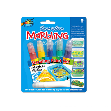 Professional manufacture Original 12ml 6 colours magic marbling Acrylic Paint
