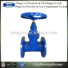 DIN PN16 duto macio válvula de porta de vedação amc