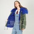 Vente en gros de femmes en Chine Mode d'hiver Parka Fur Lined Parka