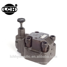 high pressure external control hydraulic explosion proof solenoid relief valve