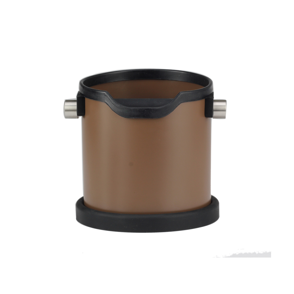 Hot Sell Coffee Knock Box Removable Silicone Handle