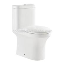 Inodoro de cerámica de una pieza de diseño estándar elegent UPC