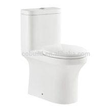 UPC standard elegent design one piece ceramic toilet