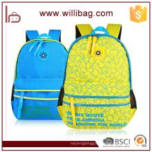 Beautiful Printing Backpack Ergonomic Child School Bag