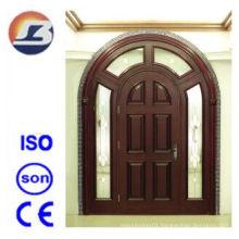Luxurious Villa Meranti Wooden Door with Egg Design