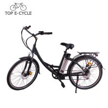 2017 CE nouveau design élire vélo pas cher ville électrique vélo 250 W 36 V 10Ah batterie e vélo