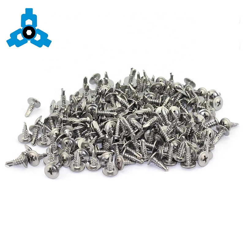 Phillips Modified Truss Head Stainless Steel Self Drilling Screws OEM Stock Support