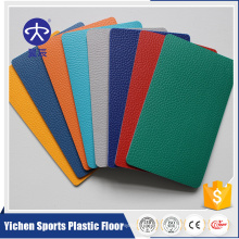 Yichen sports floor promotional price for pvc badminton mat