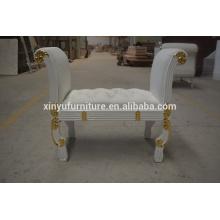 Luxury bedroom furniture wooden stool XYN2132