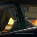 Longitud 50 cm Alto 47 cm 2 unids / set Elástico Del Coche Ventana Cortina Sombrillas Cortinas Ventanas Auto Cortina Viseras Car Styling