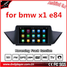 Android 5.1 9inch Car Audio pour BMW X1 E84 2009-2013 avec écran tactile capacitif Navigation GPS, 3G, WiFi, Bluetooth, iPod