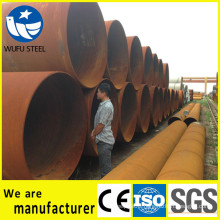 Large OD SSAW / LSAW spiral pipe pile of China