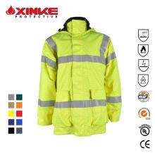 flame retardant reflective safety jackets