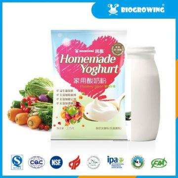 fruit taste lactobacillus yogurt starters