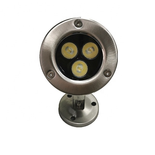 3W Edelstahl Led Pool Light Gartenteich
