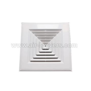 Difusor de aire de techo rectangular
