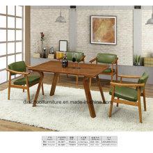 Nordeuropa Massivholz Wohnzimmer Tisch und Stuhl