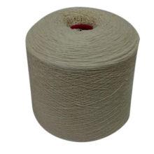 Nm2 / 26 100% hilo de concha de cachemira para la máquina de tejer, hilo de lana de cachemira
