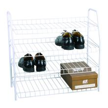 Five Shelves Shoe Rack,Powder Coated Finishing on Steel Tube and Wire