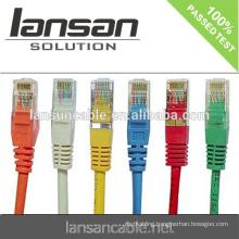 UTP Patch Cord, UTP Cat.5, Cat.5e, Cat6, Cat6a Cable, ETL Verified