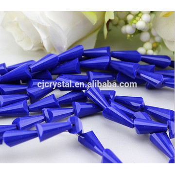 wholesale Large Hole crystal pagoda beads, glass beads manufacturers