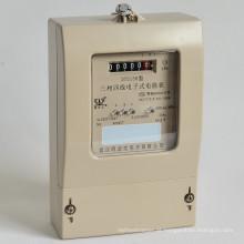Watt estático da analogica do uso da energia da casa da fase monofásica - medidor de hora