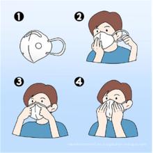 Máscara antipolvo respirador con filtro de carbono N95 de alta calidad