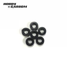 Em estoque anodizado preto m3 alumínio perfil imprensa porcas