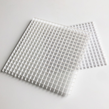 การระบายอากาศ Eggcrate Grille Sheet Retutn Air Egg Crate Core Air Grille