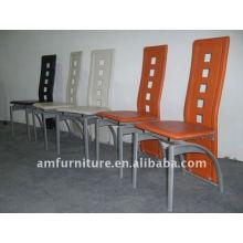 Hard PVC high back Dining Chair