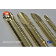 En laiton Tube ASTM B111 C68700