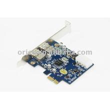 2 port USB 3.0 Express Card for desktop