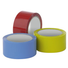 Fita adesiva BOPP colorida para embalagem