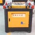 Rail Tunnel Construction utilizó la barra de acero que corta y que dobla la máquina