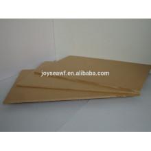 Buena calidad gabinete muebles uso 750kg / m3 desity humedad resistente color verde núcleo MELAMINE MDF
