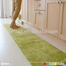 eco-friendly microfiber washable kitchen floor mats