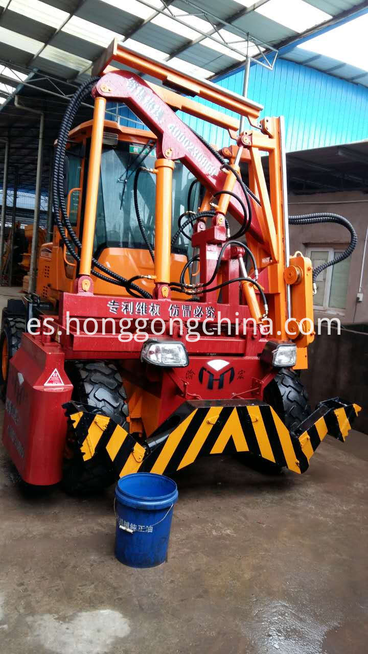 Dust-free Pile Driver for Sale