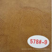 Cuero de imitación de vaca de alta calidad / Cuero de caballo loco (R64)