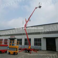 Telescoping towable boom lift Mechanism Portable Lifter