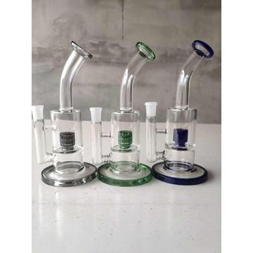 Mini Bend Neck Perc Glasbongs
